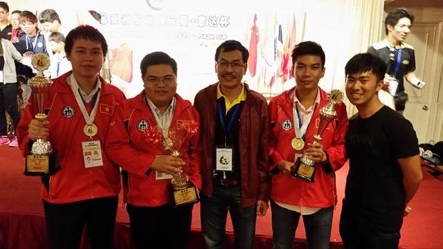 Việt Nam đoạt HCV cá nhân giải cờ vây châu Á mở rộng
