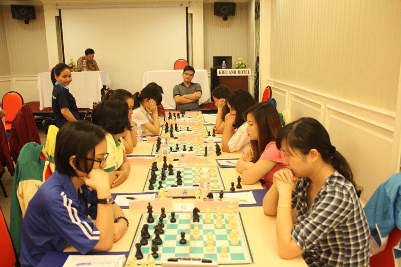 Giải vô địch cờ vua đấu thủ mạnh toàn quốc năm 2017