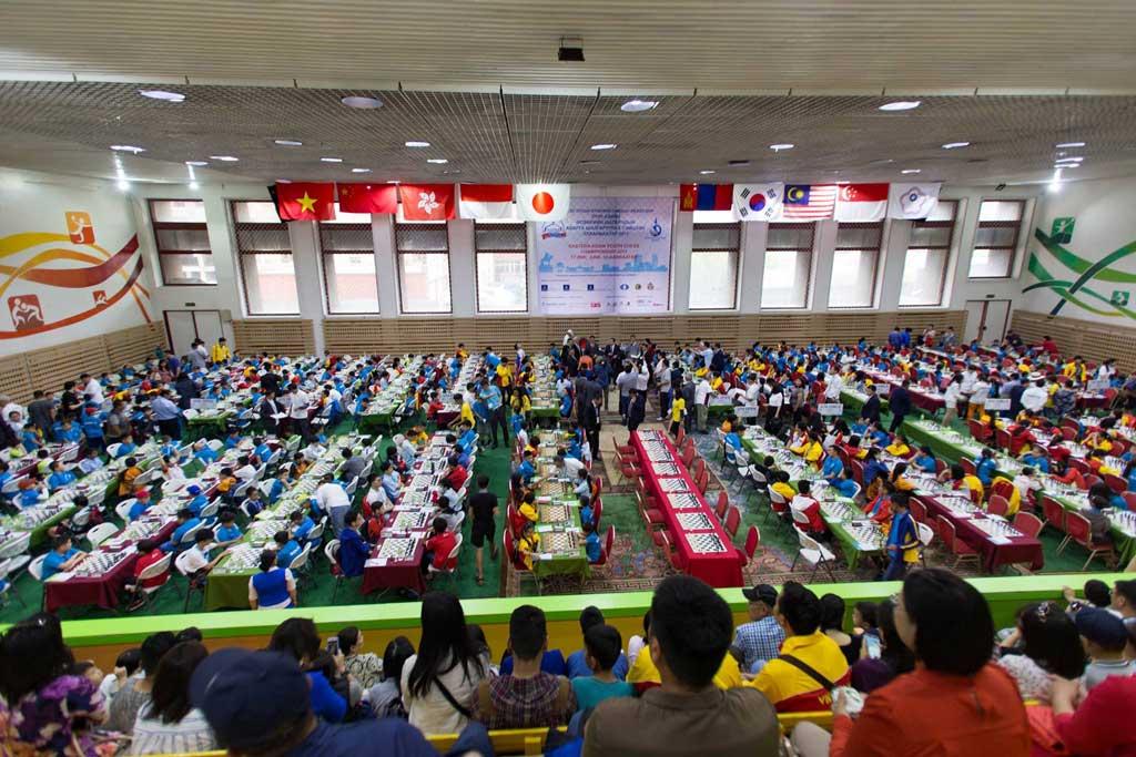 Giải cờ vua các nhóm tuổi Đông Á năm 2017