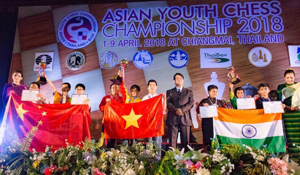 Giải vô địch cờ vua trẻ châu Á năm 2018