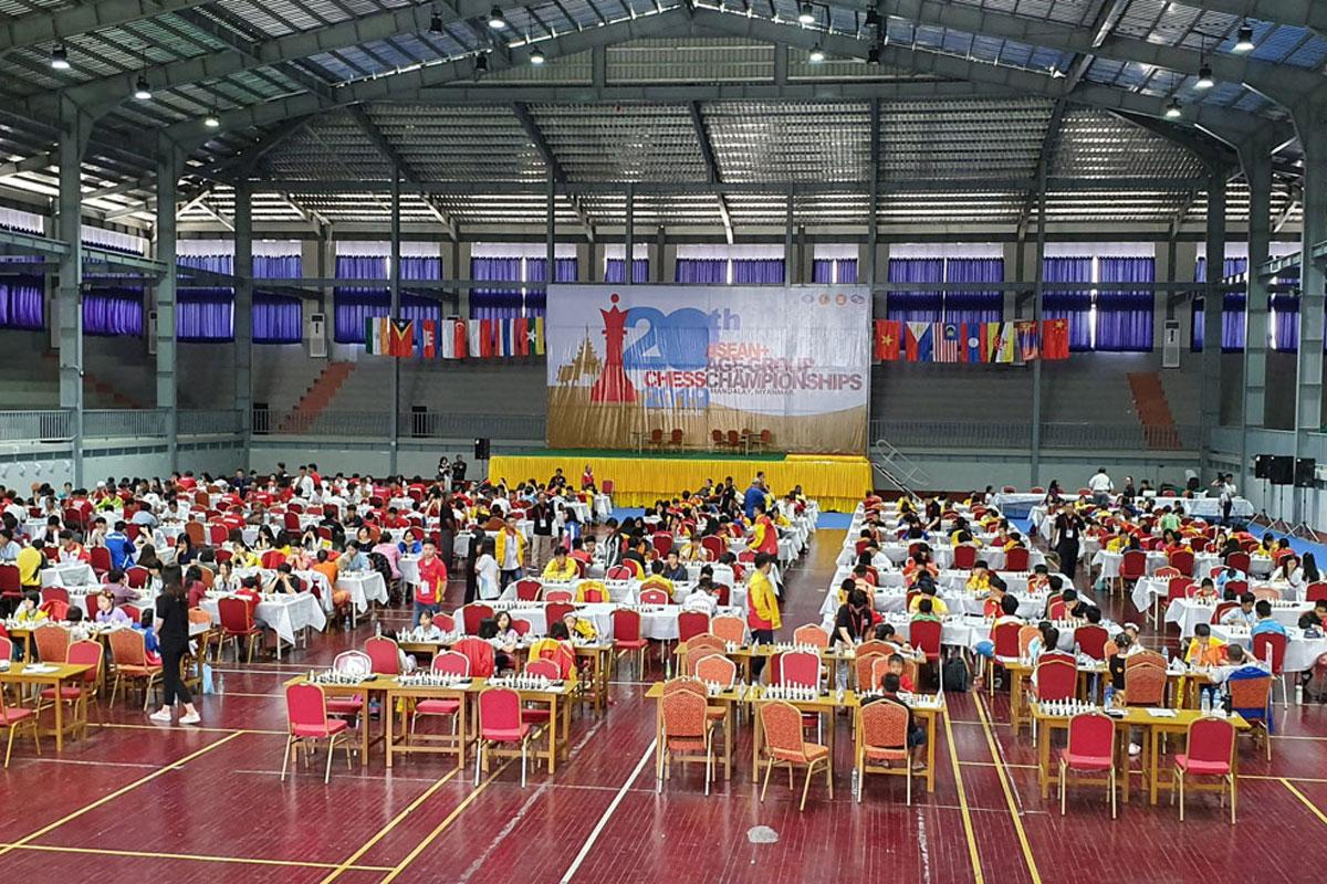 Giải vô địch cờ vua các nhóm tuổi Đông Nam Á 2019