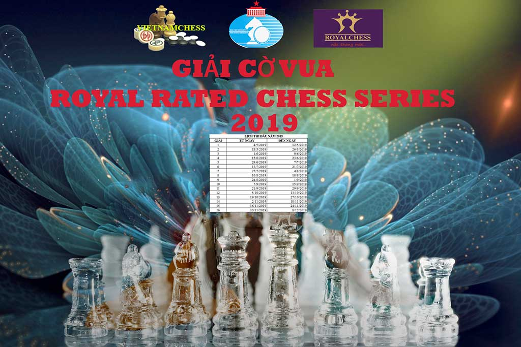 Giải Cờ Vua Royal Rated Chess Series - Năm 2019