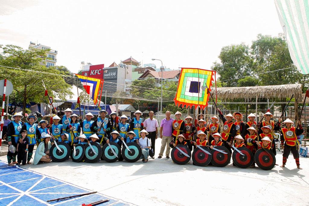 Một số hoạt động của Làng cờ Việt đầu Xuân Đinh Dậu 2017