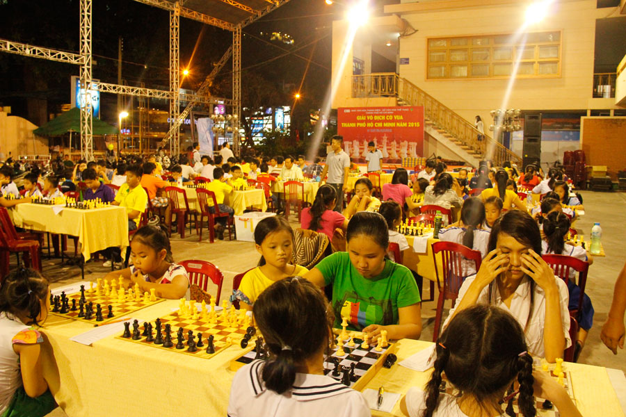 Saigon chess 2015